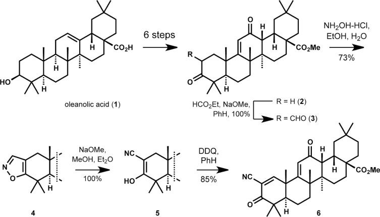 Image result for BARDOXOLONE METHYL SYNTHESIS
