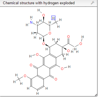 1H  NMR prediction EPI