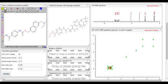 COSY NMR prediction (3)