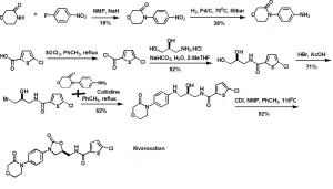 Synthesis-of-Xarelto-Rivaroxaban-BayerJJs-anticoagulant-